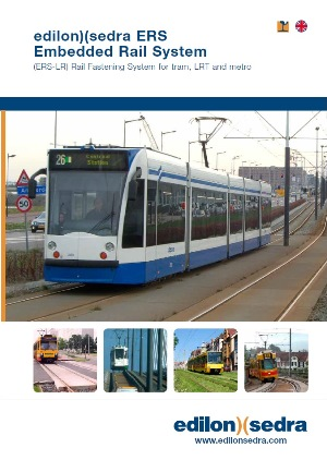 edilon)(sedra Corkelast® ERS-LR (Embedded Rail System - Light Rail)