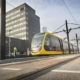 New tram line Utrecht (The Netherlands)